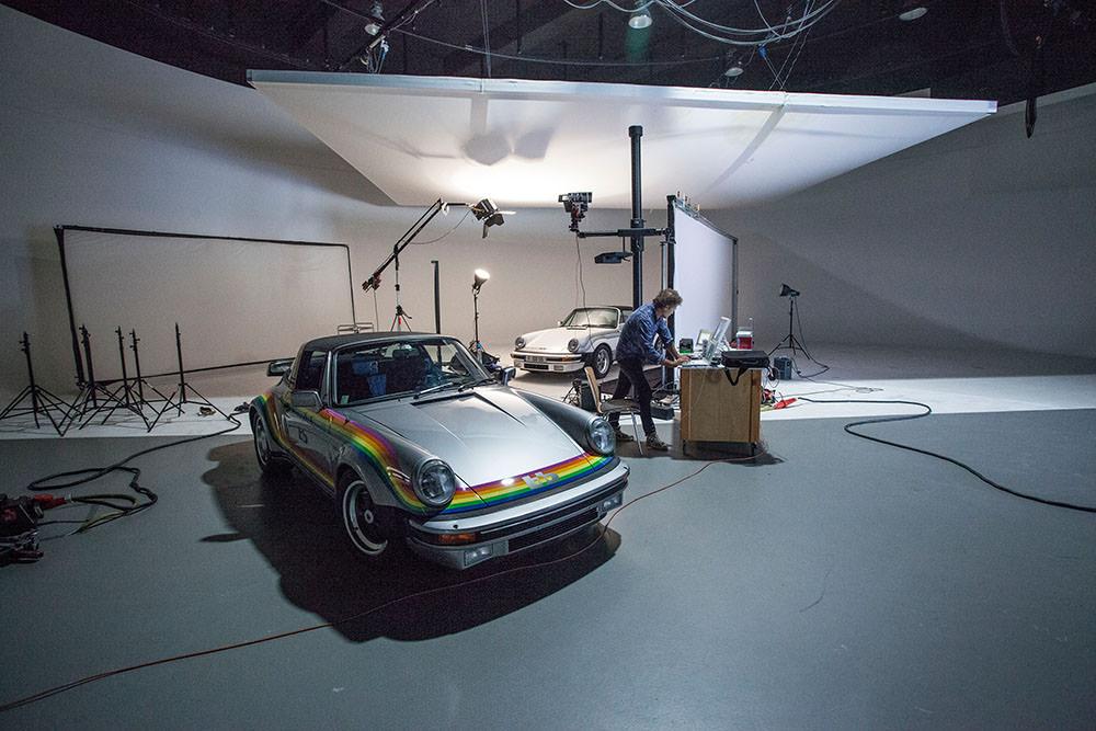 Making of bb Porsche Targa Moonracer