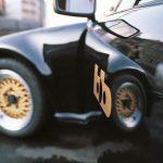 Porsche Turbo Targa schwarz