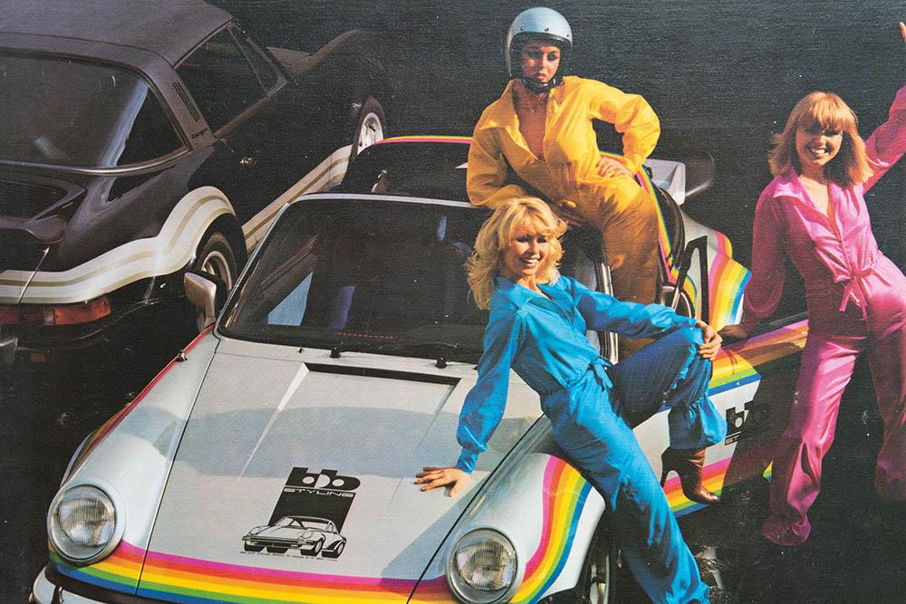 Porsche Turbo Targa Rainbow