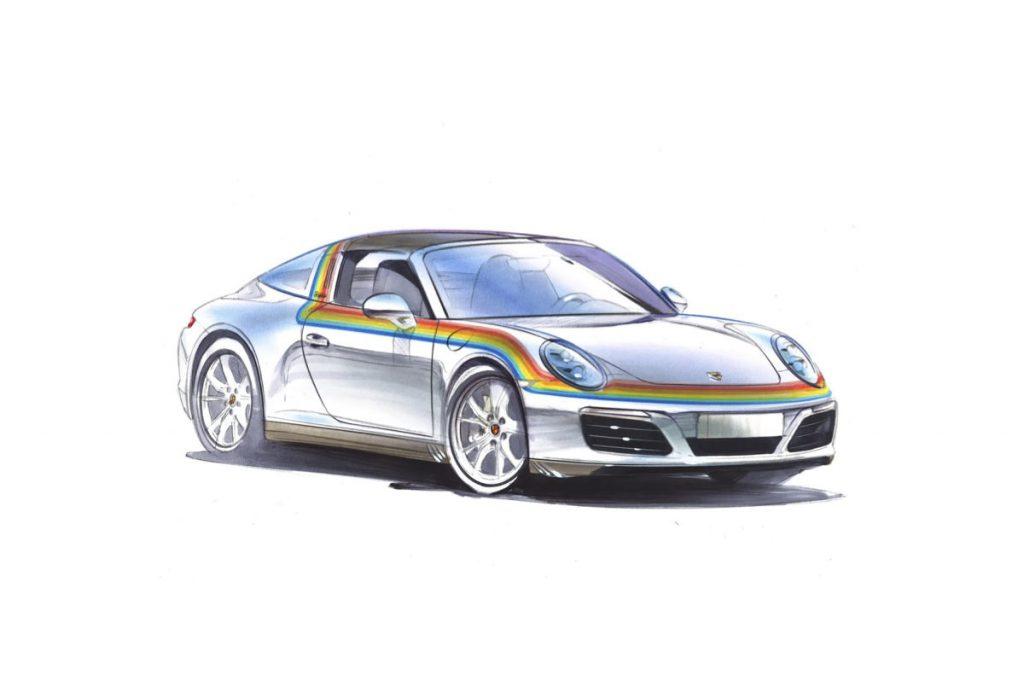 Porsche Targa Designidee