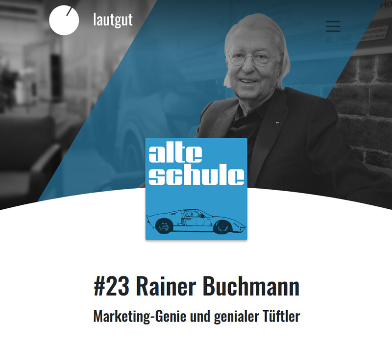 Podcast Rainer Buchmann